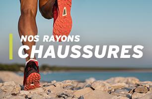 chaussures pour la trail et le running