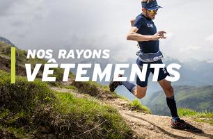 vêtements pour la trail et le running