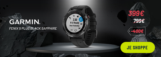 Black friday Garmin Fenix 5S Plus Silver