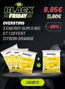 Overstims 3 Energy Gum.s Bio