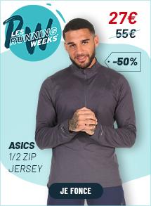 Asics 1/2 zip Jersey