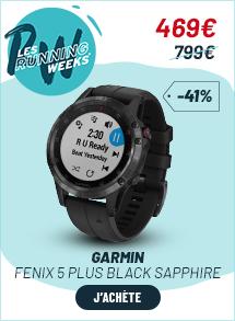 Garmin Fenix 5 plus Black Sapphire