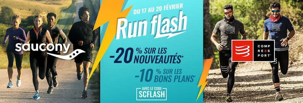 ventes flash Saucony & Compressport