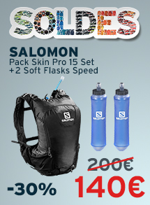 Soldes Salomon Pack Skin Pro 15 Set + 2 Soft Flasks