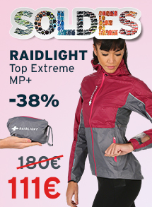 Soldes Raidlight top extreme mp+
