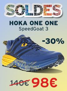 Soldes Hoka one one speedgoat 3