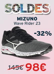 Soldes mizuno wave rider 23