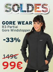 Soldes gore wear r3 partial gore windstopper