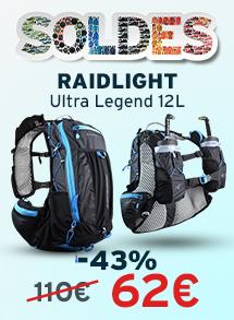 Soldes Raidlight Ultra legend 12 L