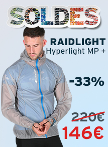 Soldes raidlight hyperlight MP +