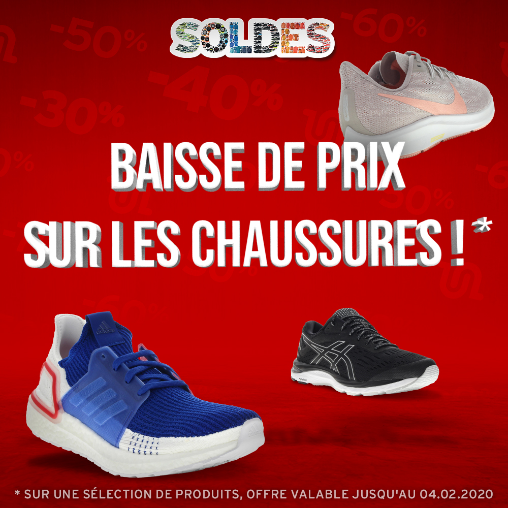 Running, Trail, Fitness i Run : vente de chaussures de