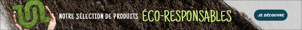 Notre sélection de produits éco-responsable