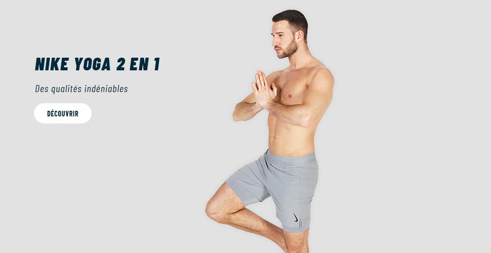 nike yoga vetement homme