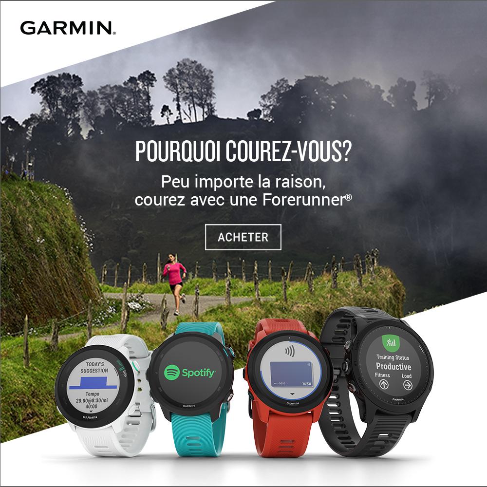 Garmin Forerunner for runners