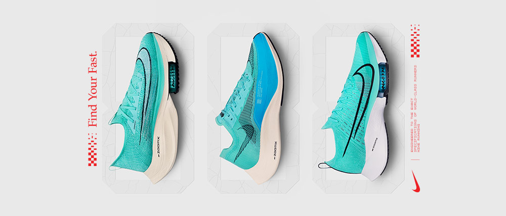 Acheter les chaussures Nike zoom fast pack mango