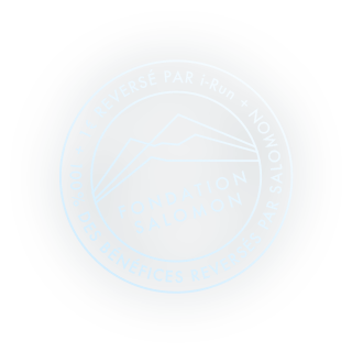Dons i-Run et Salomon à la Fondation Salomon