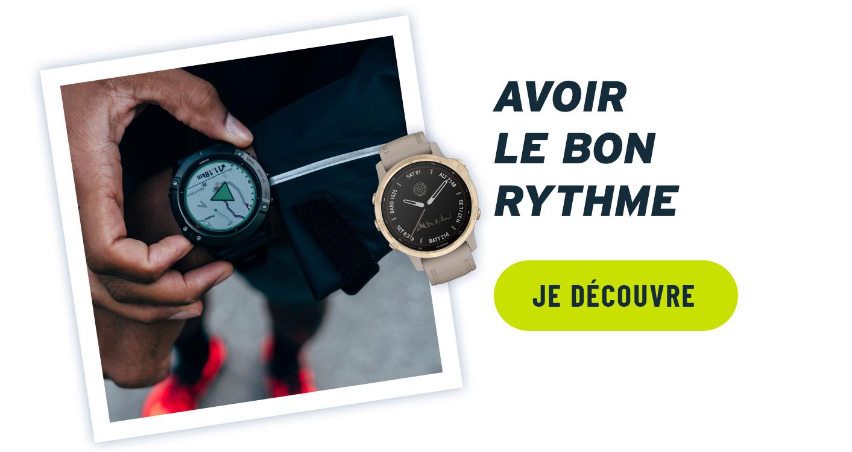 offrir une montre running cardio - gps
