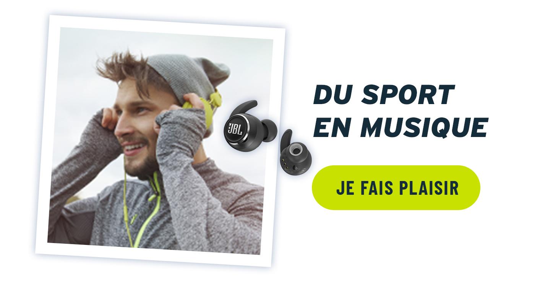 offrir des écouteurs ou casques audio pour le running