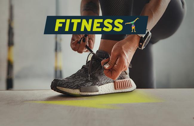 chaussures et vêtements de fitness pas cher