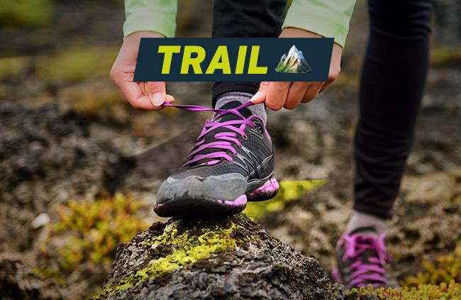 chaussures et vêtements de trail pas cher