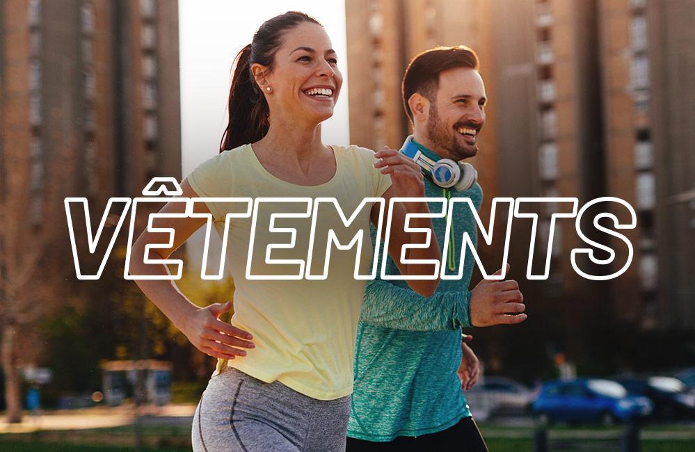 vêtement de running en Running Weeks pour homme et femme
