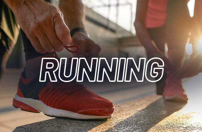 chaussures et vêtements de running en Running Weeks