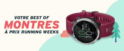 les meilleurs montres de running en soldes