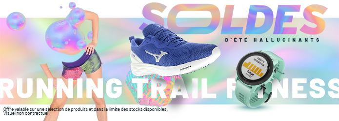 Soldes articles running trail fitness