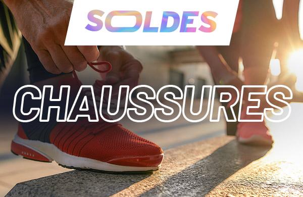 chaussures de running en soldes pour homme et femme