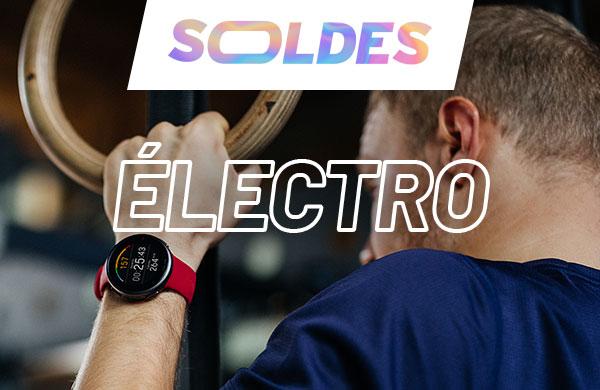 montre cardio - GPS et électrostimulation en soldes pour le fitness training