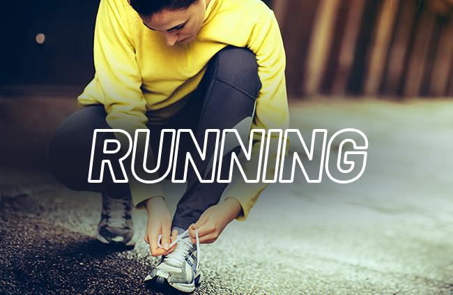 chaussures et vêtements de running en soldes