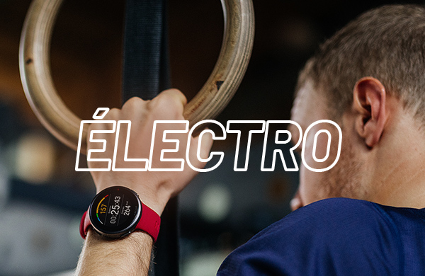 montre cardio - GPS et électrostimulation en Running Weeks pour le fitness training