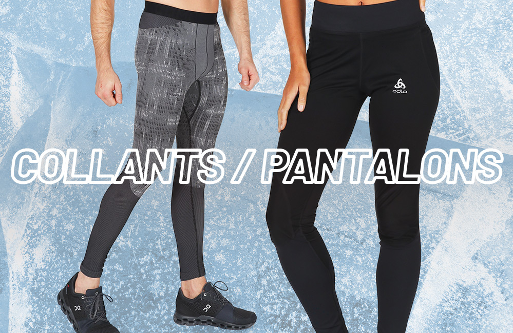 Collants et pantalons pour courir dans le froid