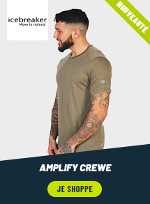 Icebreaker Amplify Crewe