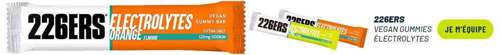 226ers Vegan Gummies Électrolytes