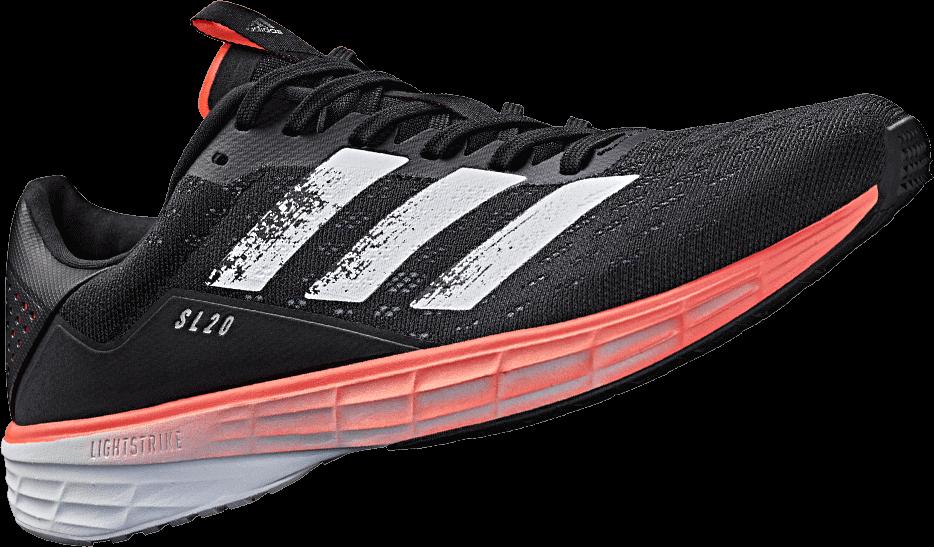 Adidas SL 20 : nouvelle semelle lightstrike plus légère
